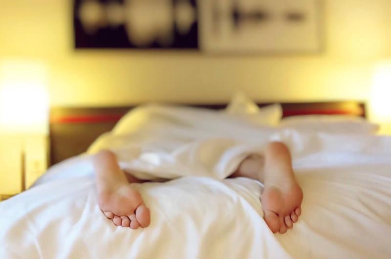 Schlafen Füße