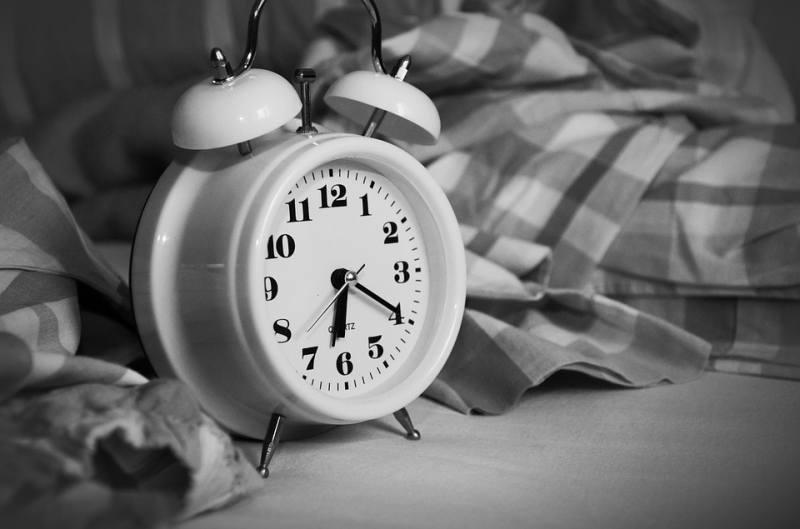 Wecker Schlafenszeit