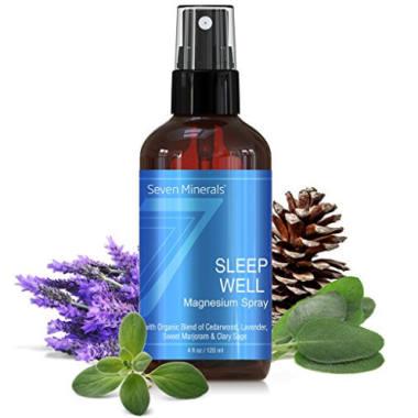Magnesium Spray guter Schlaf