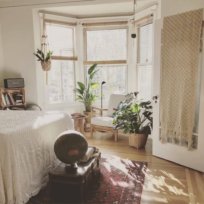 Schönes Schlafzimmer gegen Albträume