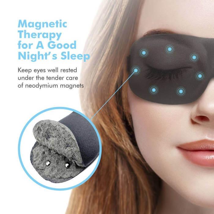 3D Schlafmaske Magnettherapie