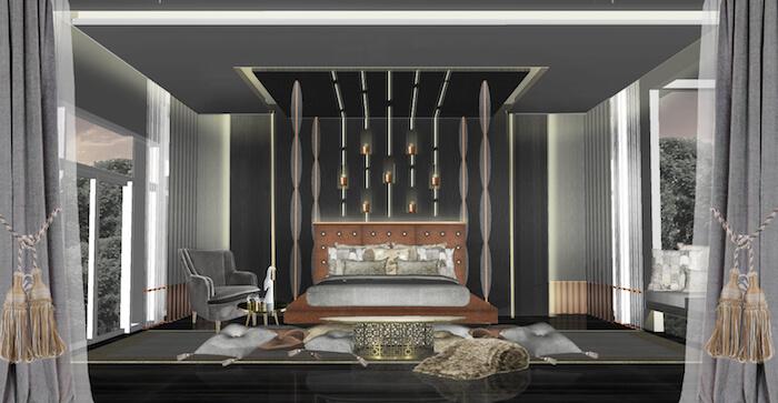 Farben Fürs Schlafzimmer: Schwarzes Schlafzimmer