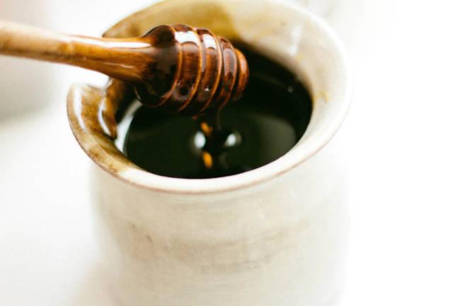 Honig warme Milch