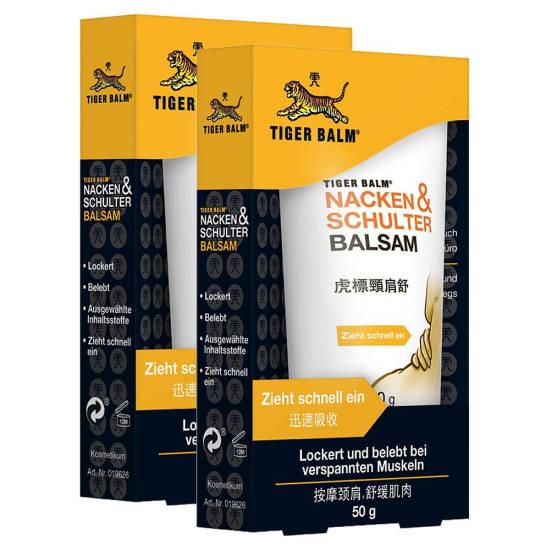Tiger Balm hilft bei Nackenschmerzen nach dem Schlafen